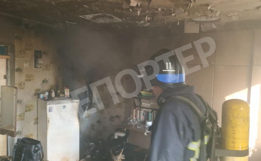На пожаре в бердянской многоэтажке погибла пенсионерка