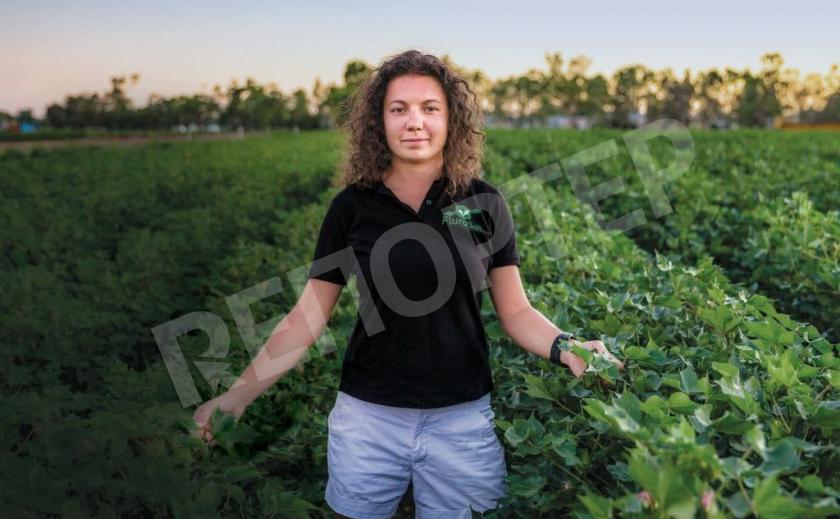 Запорожанка из ТОП-100 самых влиятельных женщин мира помогает сохранить урожай