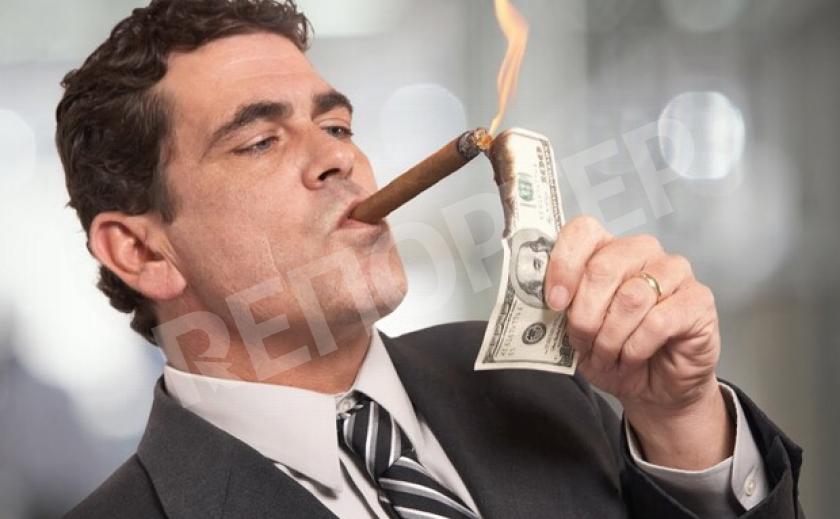 Запорожская казна пополняется за счет богачей