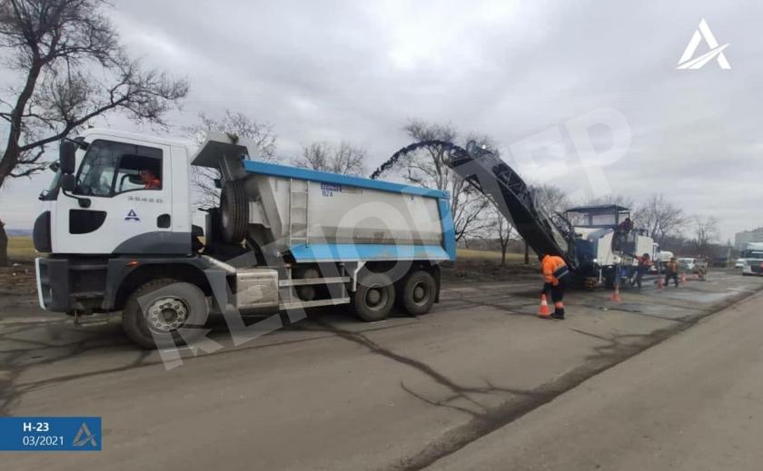 Трассу Кропивницкий–Кривой Рог–Запорожье покроют пластиком