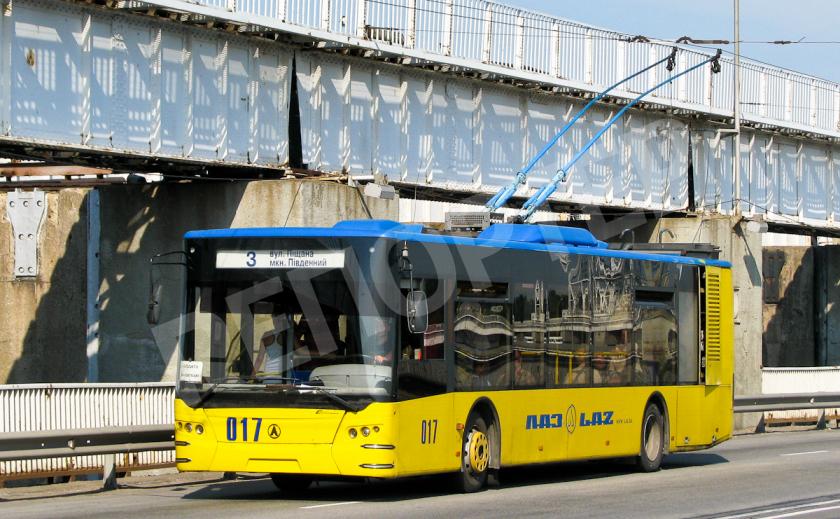 Запорожские троллейбусы меняют маршруты