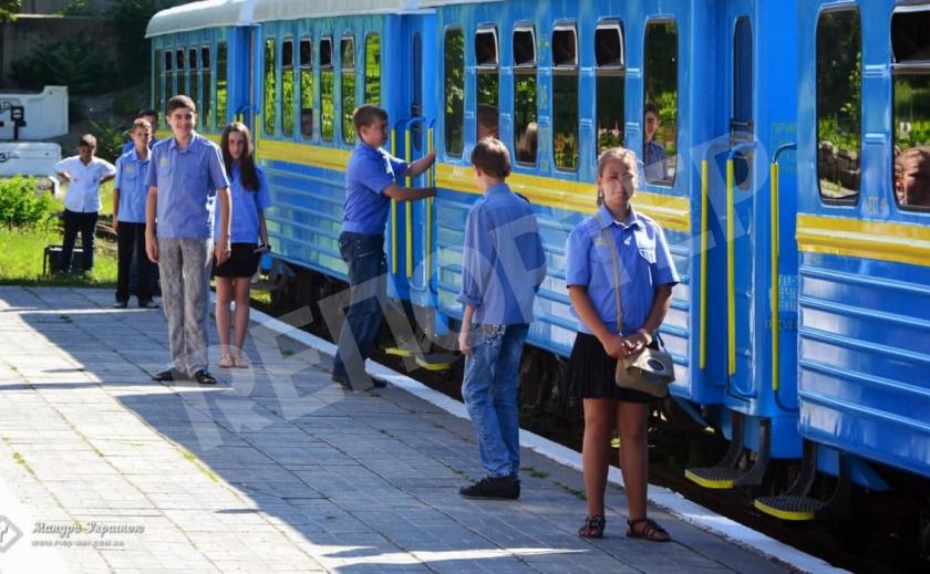 Запорожская железная дорога заработала