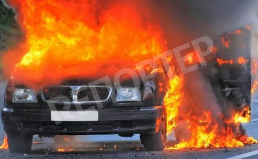 На Бабурке в Запорожье взорвались пять авто 18+
