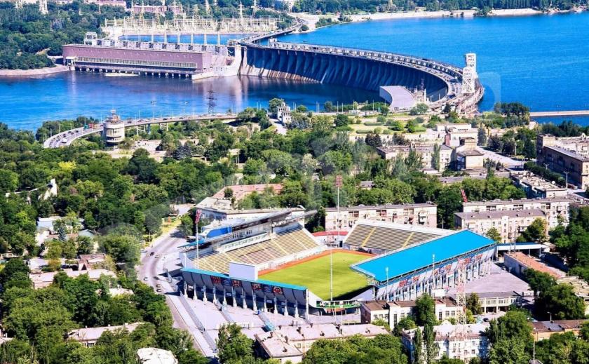 Евро-2020. В Запорожье делают крупнейшую в Украине фан-зону к матчу Украина - Англия