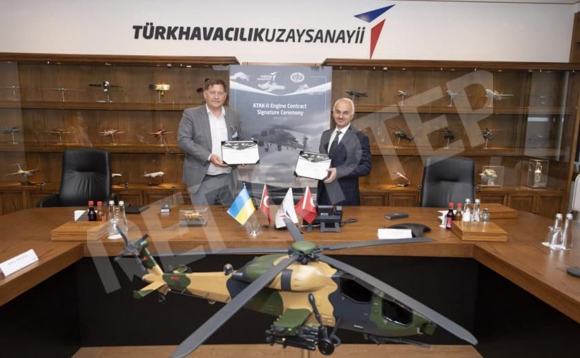 «Мотор Сич» поставит Турции 14 двигателей для ударных вертолетов ATAK-II