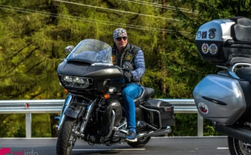 Байкерский «Мотопробег Единства-2021» стартовал из Ужгорода в Запорожье