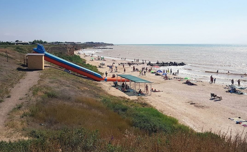 На пляже в Запорожской области обнаружили тело дельфина