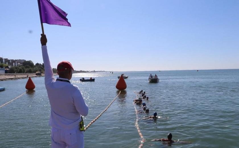 Пловцы Днепропетровщины и Запорожской области стали призерами Кубка Украины на открытой воде