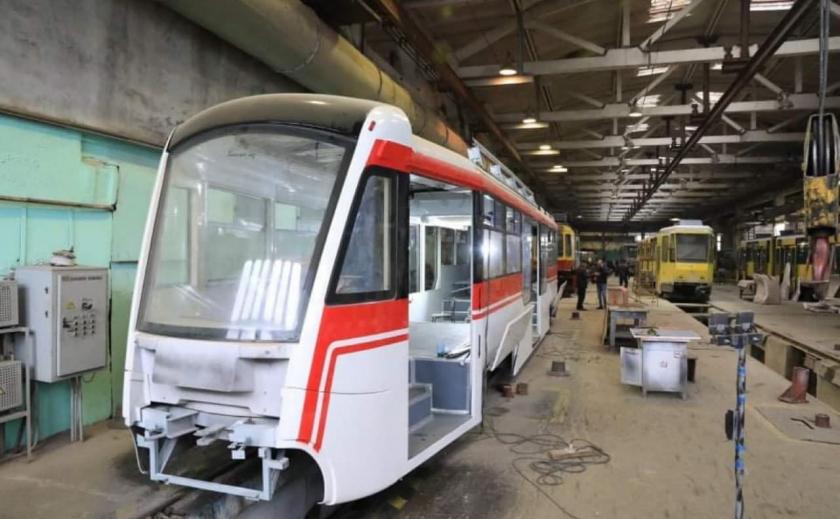 В Запорожье продолжают обновлять трамвайный парк: на очереди три вагона