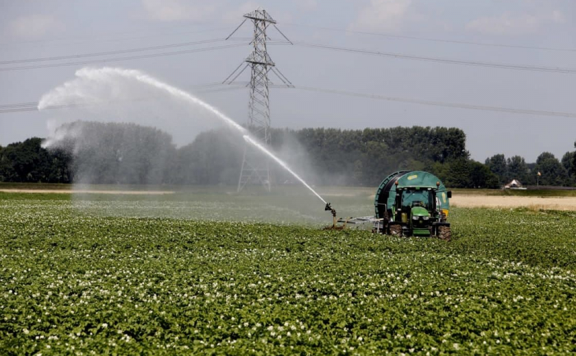 Франция поможет Запорожской области восстановить систему орошения