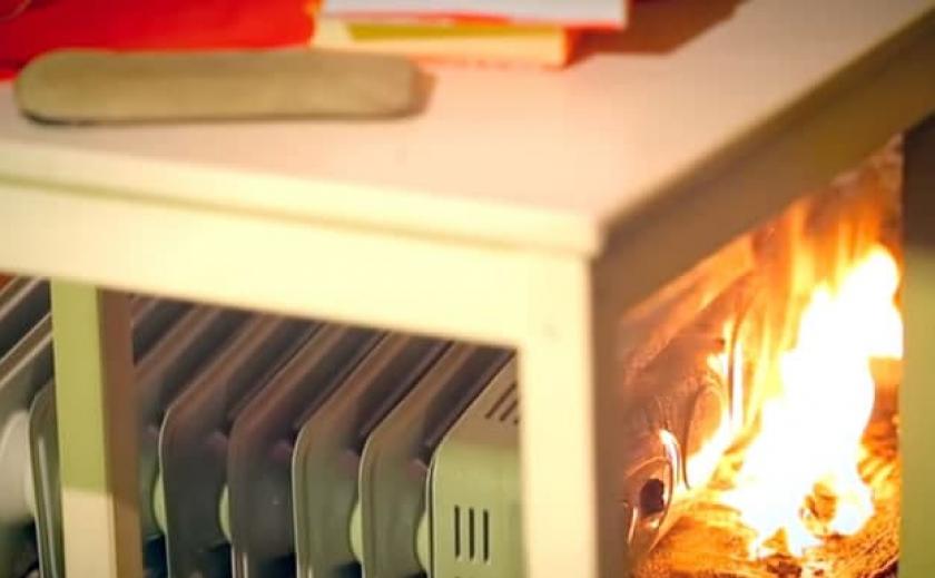 В Запорожской области из-за обогревателя загорелся частный дом: пострадала 75-летняя женщина
