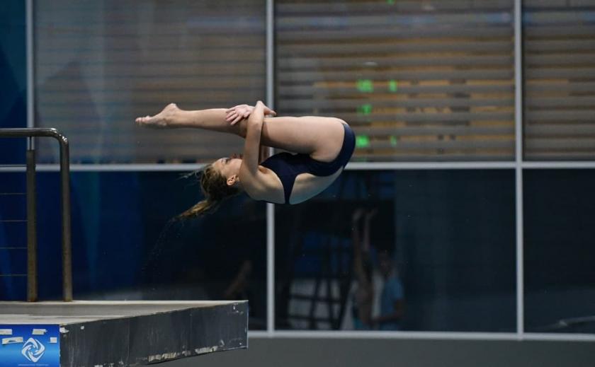 Прыгуньи в воду из Покрова и Запорожья стали призерами Чемпионата Украины