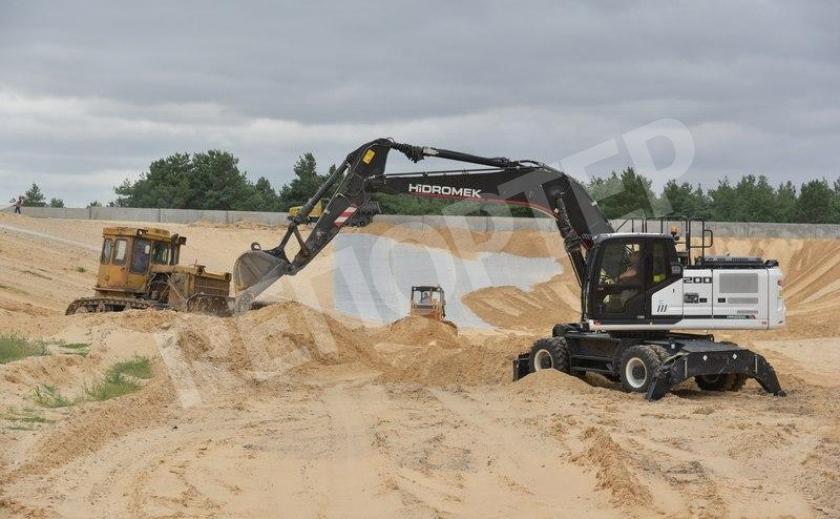 На Запорожской АЭС возводят полигон для отходов производства
