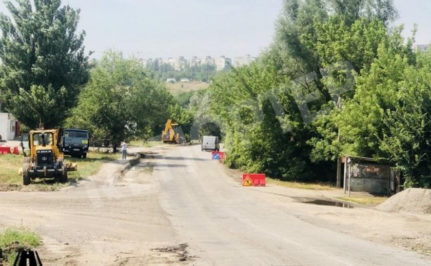 Обновляется трасса Запорожье-Беленькое