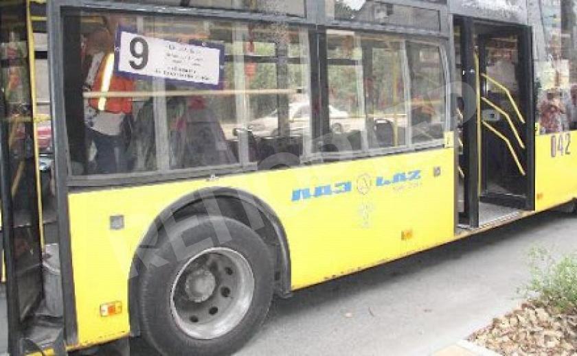 Запорожский троллейбус №9 прекратил ходить