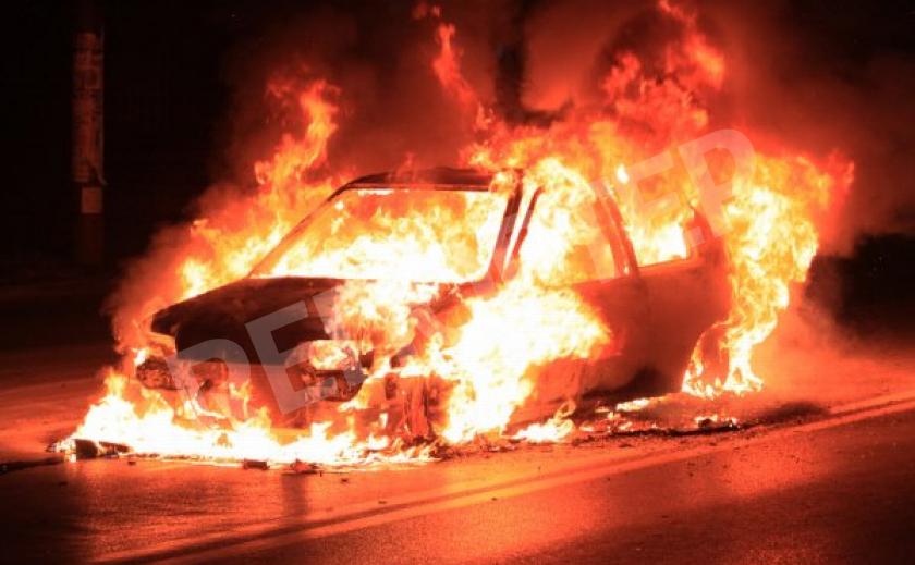 На запорожской Набережной ДТП: трое иностранцев сгорели заживо